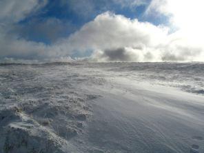 Re-exposure of Brecon Beacons snow 2011 031