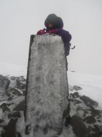 Re-exposure of Crickhowell snow 031