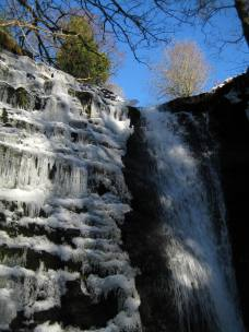 Re-exposure of Waterfalls and Snow in the beacons 038