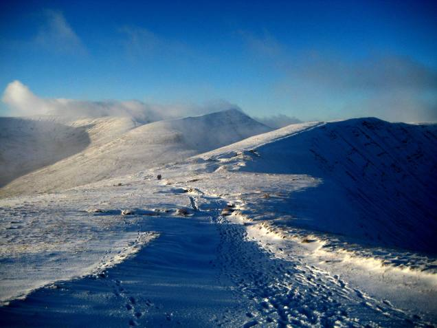 Re-exposure of Waterfalls and Snow in the beacons 083